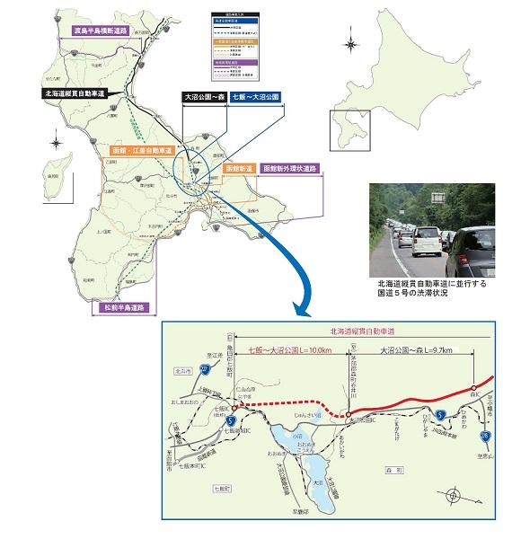 北海道縦貫自動車道について   ...